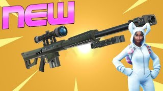 NEW *HEAVY SNIPER* OUT NOW   NEW SNIPER GAMEPLAY   FORTNITE SEASON 5