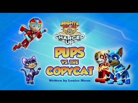 Видео: Mighty Pups,Charged Up:Pups vs the Copycat