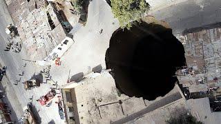 Самая большая черная дыра в земле в Гватемале