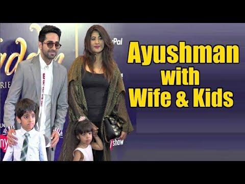 Ayushman Khurana Family - Wife Tahira Kashyap And Kids Virajveer & Varushka