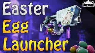 FORTNITE - How To Get The New Easter Egg Launcher (Perks And Gameplay)