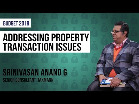 Budget 2018: Address Issues In Benami Property Transactions Act To Crackdown On Black Money
