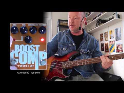 Tech 21 Boost COMP with Bass through an SVT