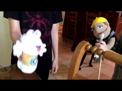 Jimmy jumps/ puppet productions short
