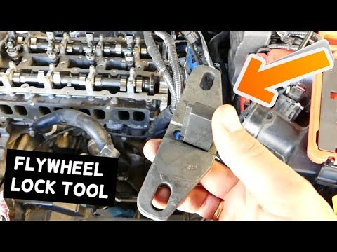 How To Use Ford Flywheel Lock Tool Holding Tool Youtube