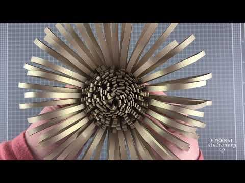 Giant Paper Flower Centre Tutorial