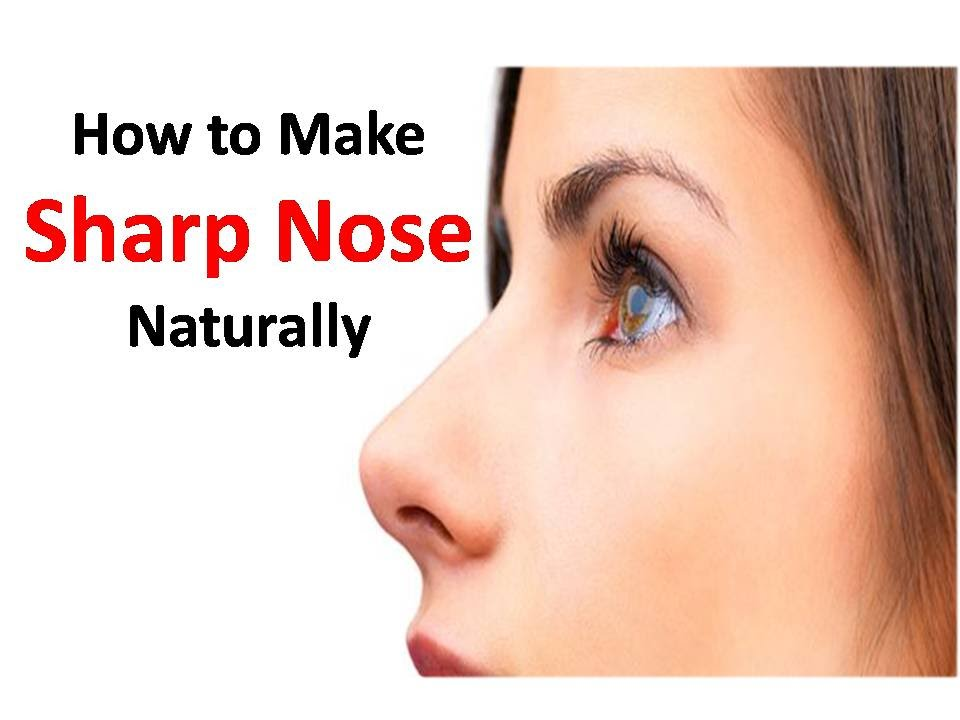 How To Make Your Nose Smaller Naturally Youtube