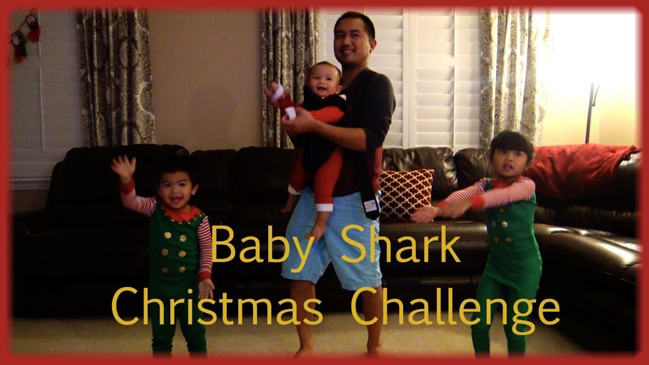 BABY SHARK CHALLENGE FUNNY. BABY SHARK dance steps ...