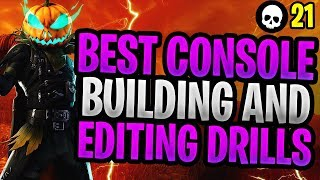 5 BEST Building + Editing Drills For Console Fortnite! (Battle Royale Building Tips)
