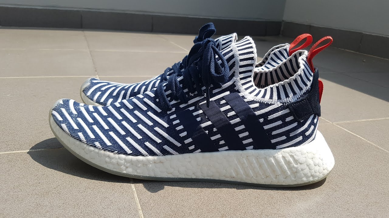 new style 02a58 addad Adidas NMD R2 PK | In-Depth Review (Collegiate Navy/Ronin) | MY FIRST EVER  NMDs!