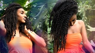 Caring for natural hair when swimming or on vacation | Protect from Chlorine and Salt