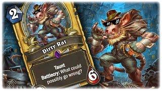 The Dirty Dirty Dirty Rat! ✌