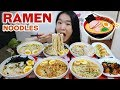RAMEN NOODLES! Tonkotsu Ramen Noodles, Gyoza & Takoyaki Octopus | Japanese Food Eating Show Mukbang