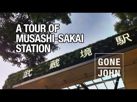 Musashi-Sakai Station Area Tour