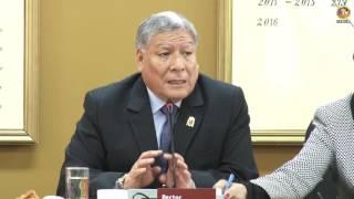 Tema: Reunión de Autoridades de la UNMSM con Decanos y Funcionarios