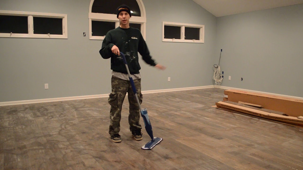 Libman Freedom Spray Mop Review - YouTube