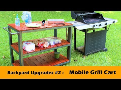 DIY Grill Cart ~ Backyard Upgrades #2