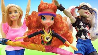 Школа гимнастики Барби - Мультики для девочек - Новенькая на занятии