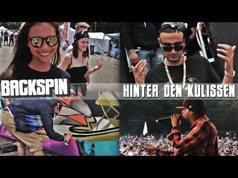 """Hinter den Kulissen beim """"HipHop Open"""" 2014 (BACKSPIN TV)"""