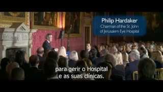 Prem Rawat fala no Kensington Palace, Londres, Inglaterra