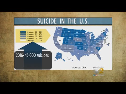 CDC: Suicide Rates On The Rise In Almost Every U.S. State