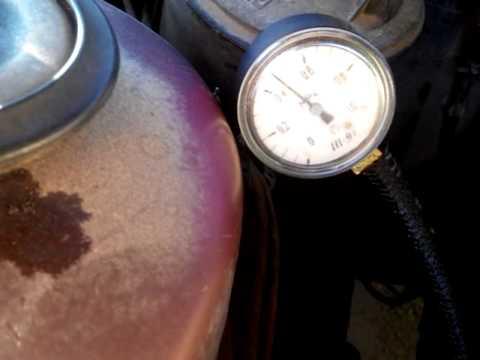 Избыточное давление топлива Omega A C20NE