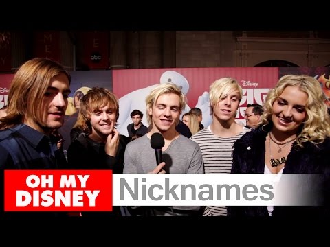 Nicknames on the Big Hero 6 Red Carpet