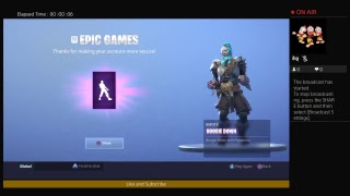 Fortnite How To Get Boogie Down Dance Free!! ( Enable 2 Factor Authentication )