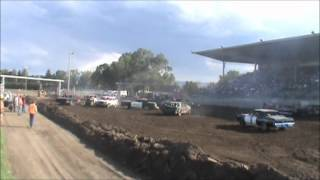Central Montana Demolition Derby Lewistown 2012 Welded Main