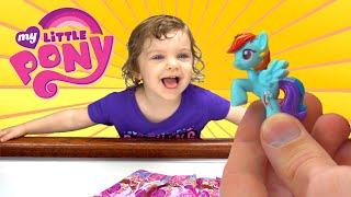 Genevieve Opens My Little Pony Blind Bags!
