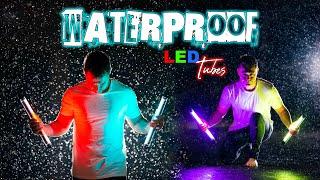 Photo & Video Waterproof LED Tubes | Hailoly RGB LED Wand...$86