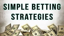 4 Simple Strategies To Make Money Betting Sports (No Calculations Required)
