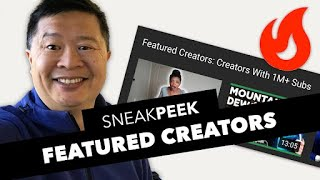Trending Page Experiment Sneak Peek: Featured Creators - Creators with 1M+ Subs thumbnail