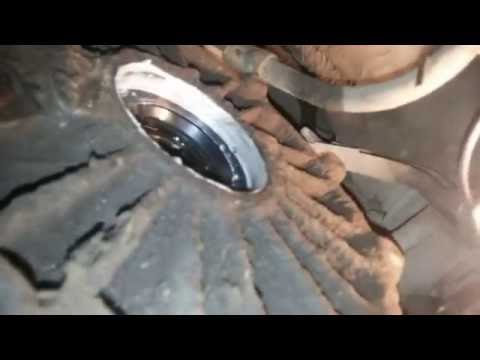 Замена сальника привода, МКПП Audi 80,замена привода(ШРУСа)