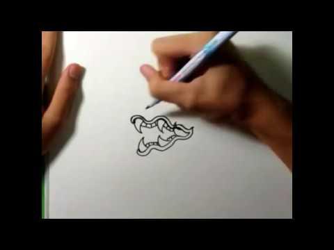 วิธีการวาด พญานาคแบบ ง่ายๆ ep1