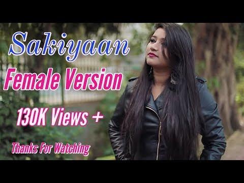 SAKHIYAAN (Lyrics) - Maninder Buttar   Female Version / Cover by Jotsyna Solanki   MixSingh, Babbu