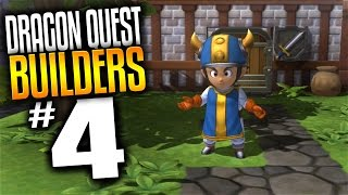 Dragon Quest Builders Gameplay - Ep 4 - Invasion Defence! (Lets Play Dragon Quest Builders)