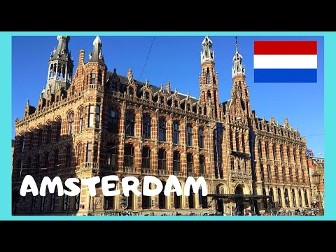 AMSTERDAM, EXPLORING the SHOPPING MALL of MAGNA PLAZA (The Netherlands)