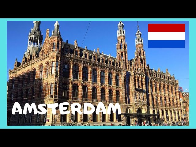 AMSTERDAM: The shopping mall of 🛍️ Magna Plaza (The Netherlands), let's go!
