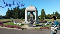 Jimi Hendrix Memorial In Renton WA