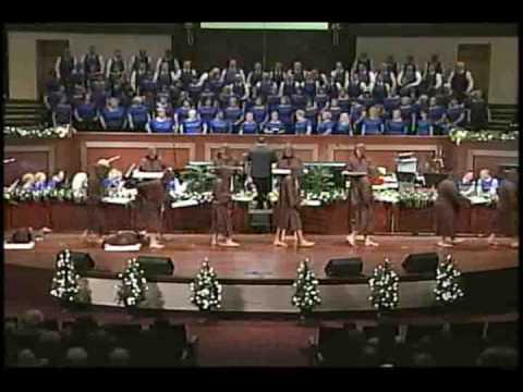 Silent Monks Perform Hallelujah - First Baptist Church Panama City