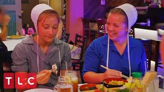 Trying Sushi For the First Time | Return to Amish