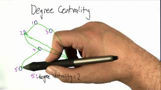 Degree Centrality - Intro to Algorithms