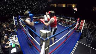 Barnsley | Ultra White Collar Boxing | Cameron Hunter VS Alex Watson