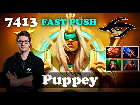 Puppey Chen Fast Push | 7413 MMR Dota 2