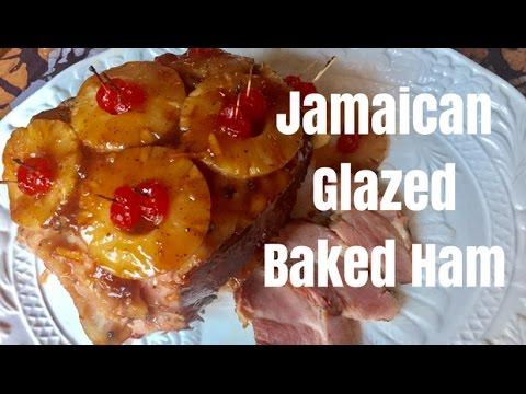 Jamaican Glazed Baked Ham (Tropical Flavour)