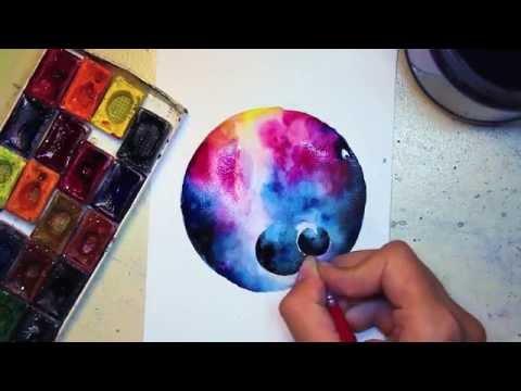 карандашом картинки рисовать космос