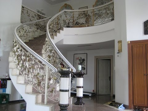 Wrought Iron Staircase Design Ideas Youtube   Wrought Iron Staircase Designs   Circular Staircase   Stair Grill Design   Railing Grand Staircase   Photo Flower Flower   Stairway