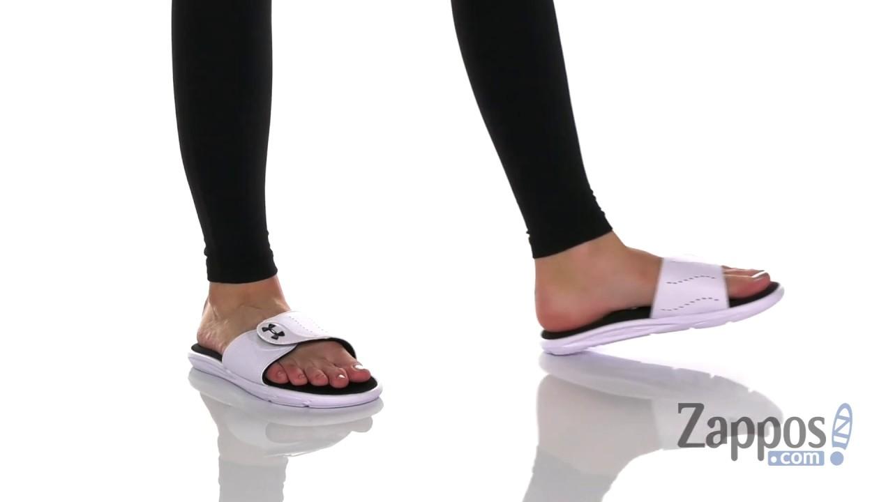 Details about  /Under Armour Women/'s Ignite Ix Sl Slide Sandal