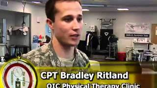 Iraqi physical therapists train at Walter Reed